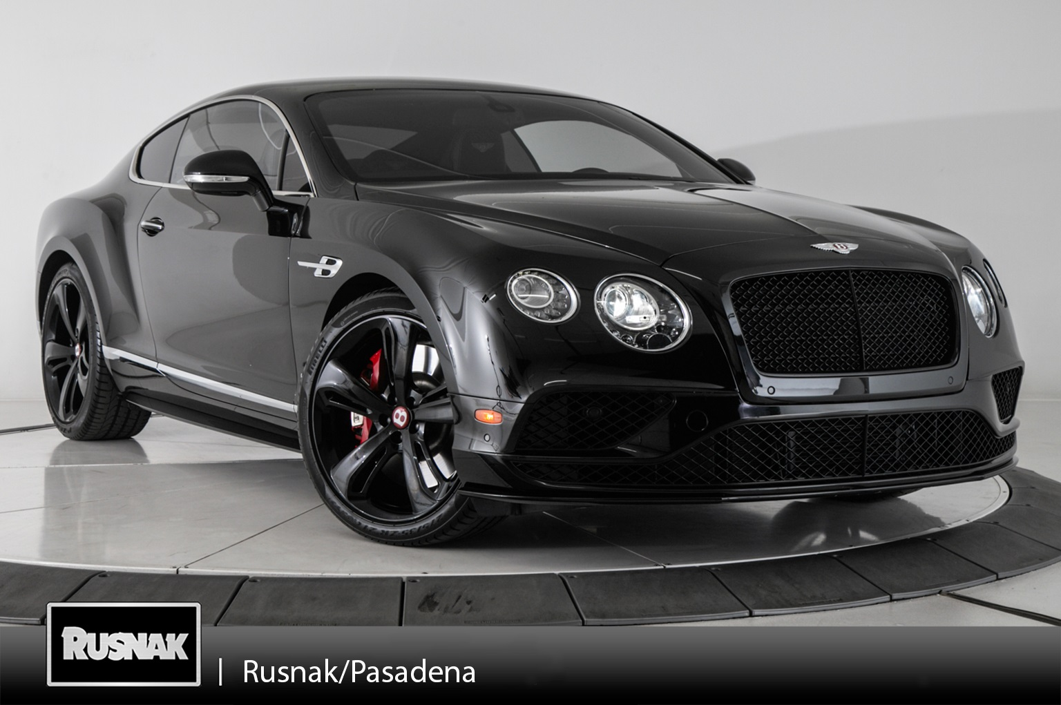 Certified Pre-Owned 2016 Bentley Continental GT V8 S AWD 2D Coupe