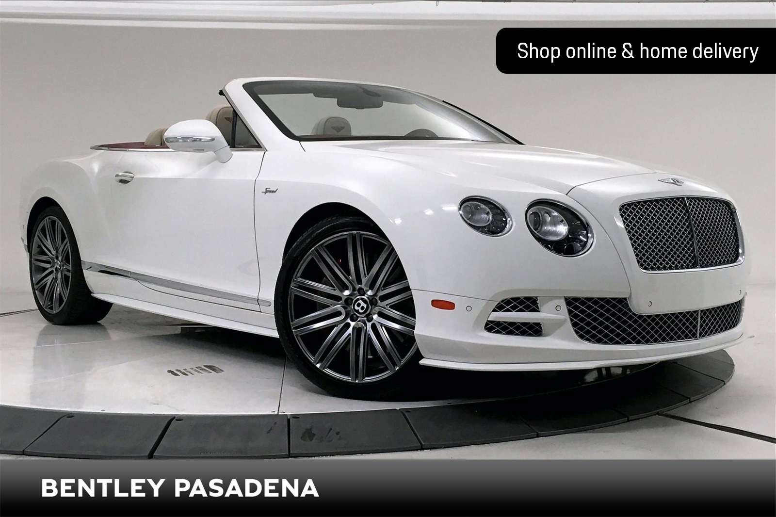 Certified Pre-Owned 2015 Bentley Continental GTC Speed