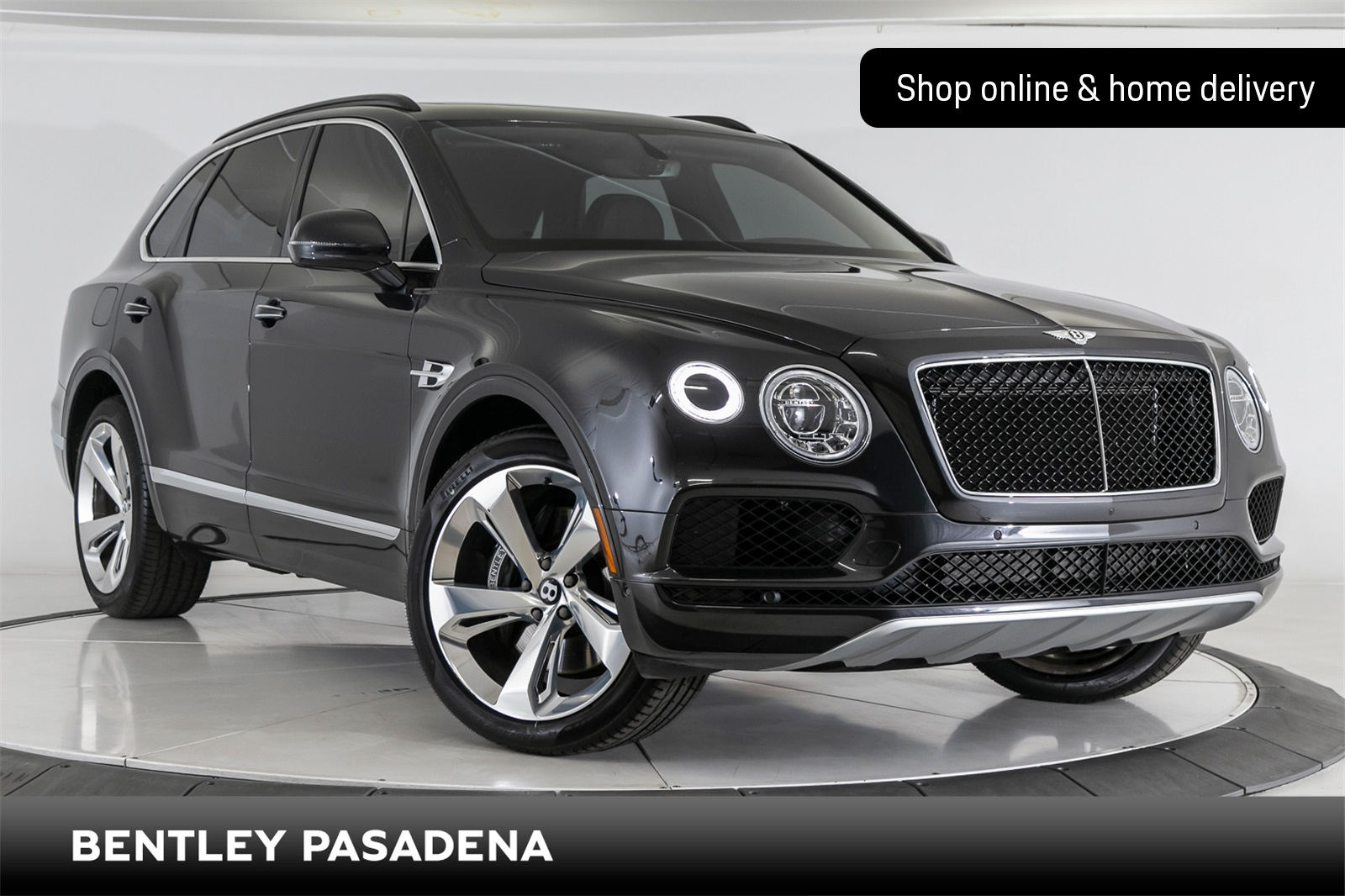 Certified Pre-Owned 2019 Bentley Bentayga V8