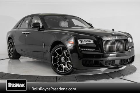 Certified Pre-Owned 2019 Rolls-Royce Ghost Black Badge