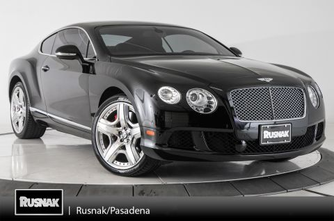Certified Pre-Owned 2012 Bentley Continental GT