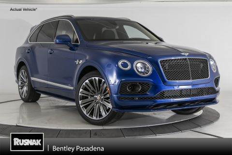 New 2020 Bentley Bentayga W12